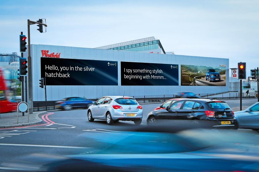 Renault Megane advert