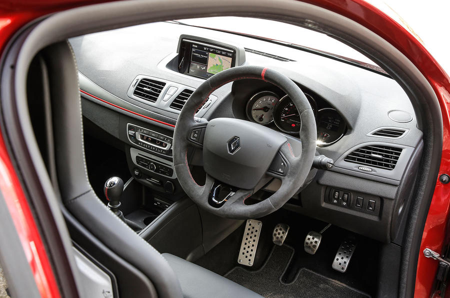 RS Megane 275 Cup-S interior