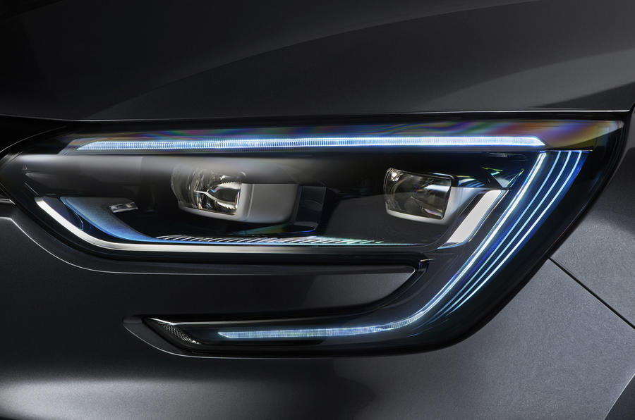 Renault Megane LED headlights