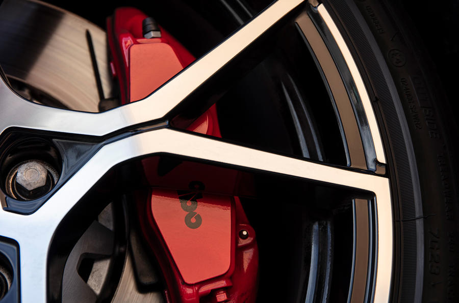 Renault Megane RS Trophy brakes