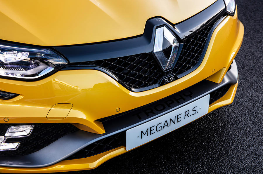 Renault Megane RS Trophy splitter