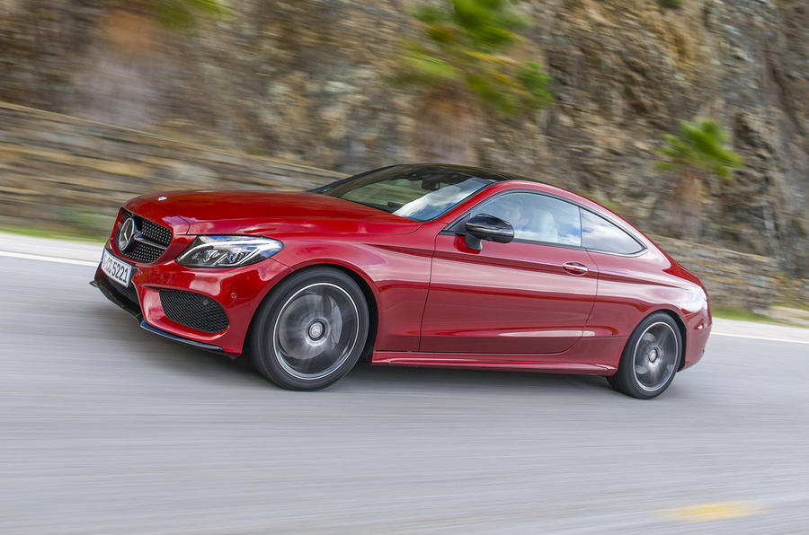 2016 mercedes benz c 250 d coupe amg line review autocar. Black Bedroom Furniture Sets. Home Design Ideas