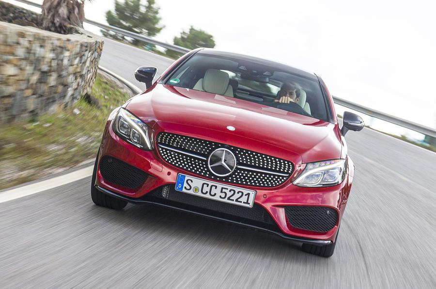£37,615 Mercedes-Benz C 250 d Coupé