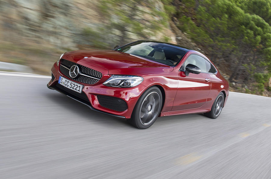 2016 mercedes benz c 250 d coupe amg line review autocar for Mercedes benz cl 250 coupe