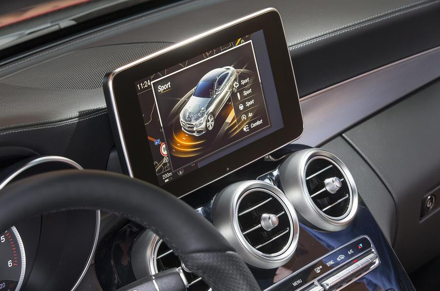 Mercedes-Benz C-Class infotainment