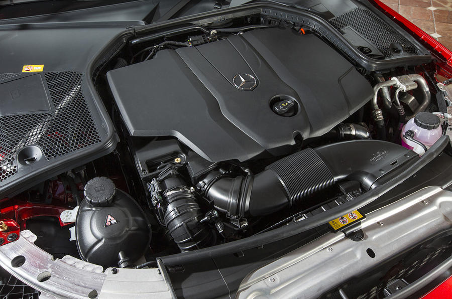 2.1-litre Mercedes-Benz C-Class diesel engine