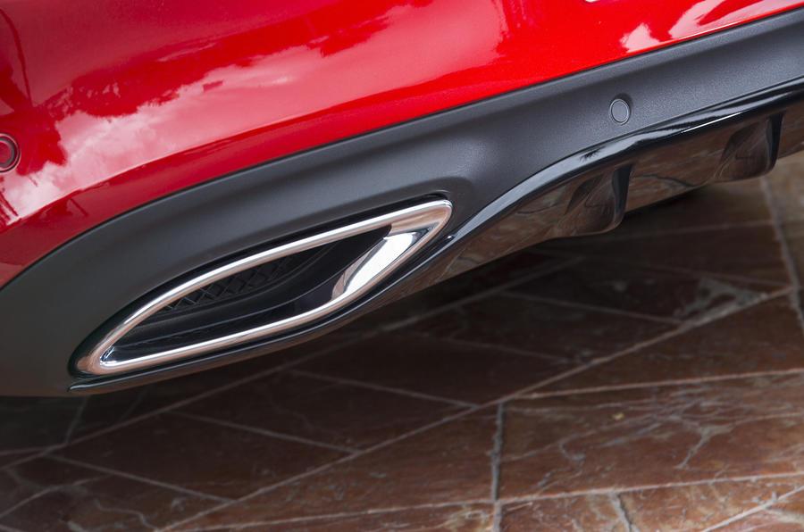 2016 mercedes benz c 250 d coupe amg line review autocar for Mercedes benz c300 exhaust