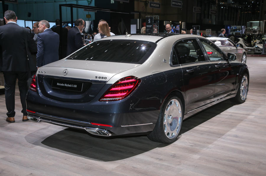 mercedes maybach s class facelift due on roads this august. Black Bedroom Furniture Sets. Home Design Ideas