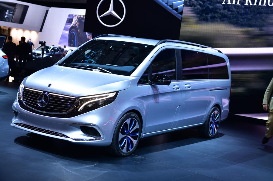 New Mercedes-Benz Concept EQV previews electric MPV | Autocar