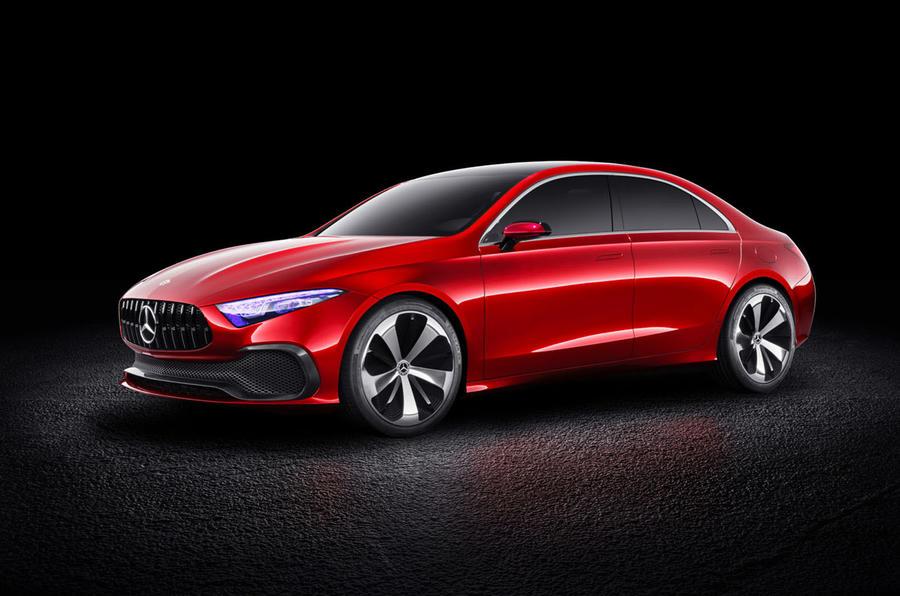 Mercedes-Benz Concept A Saloon