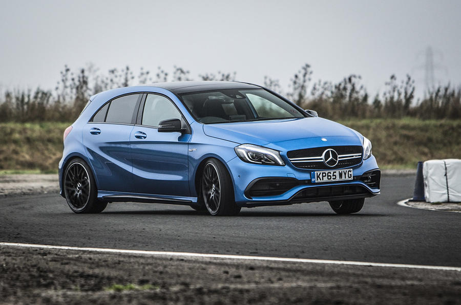 2015 mercedes amg a 45 review autocar. Black Bedroom Furniture Sets. Home Design Ideas