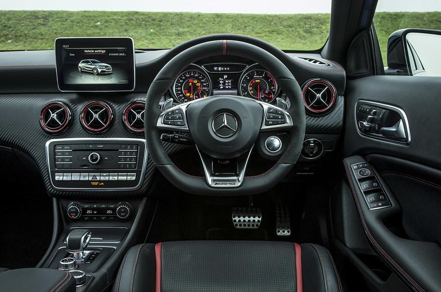 2015 Mercedes Amg A 45 Review Review Autocar