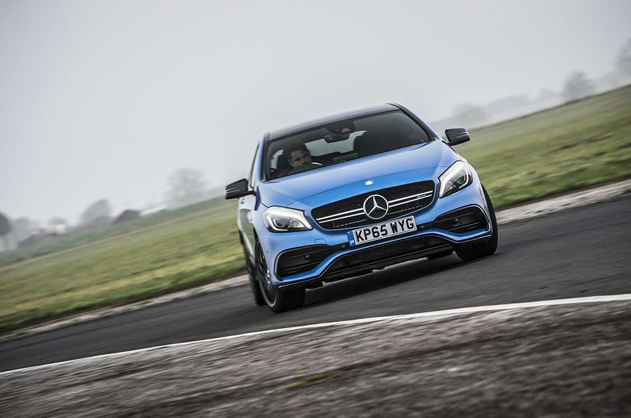 Drifting the Mercedes-AMG A 45