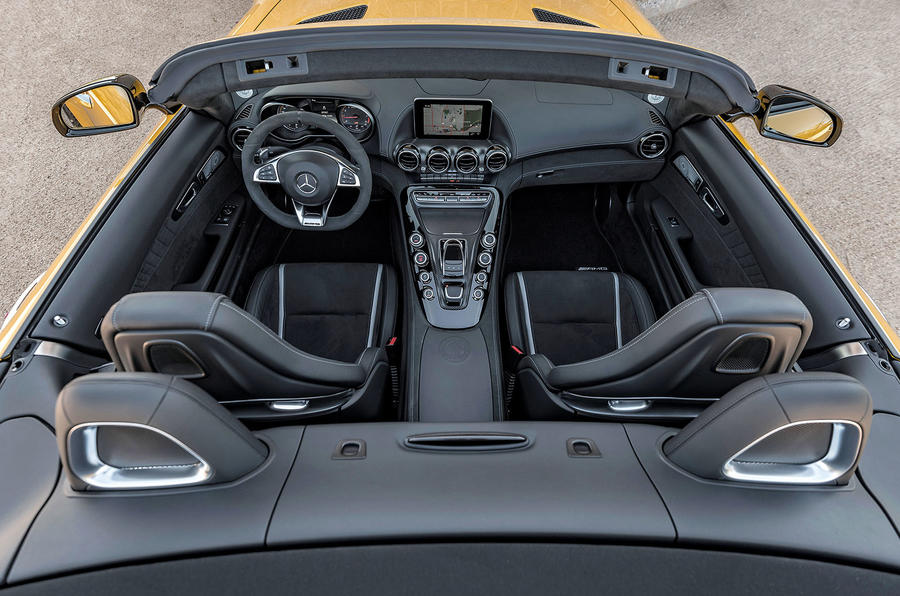 Mercedes-AMG GT C Roadster interior