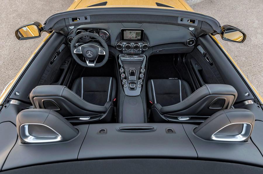Mercedes-AMG GT C Roadster interior