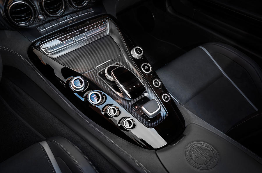 Mercedes-AMG GT C Roadster automatic gearbox