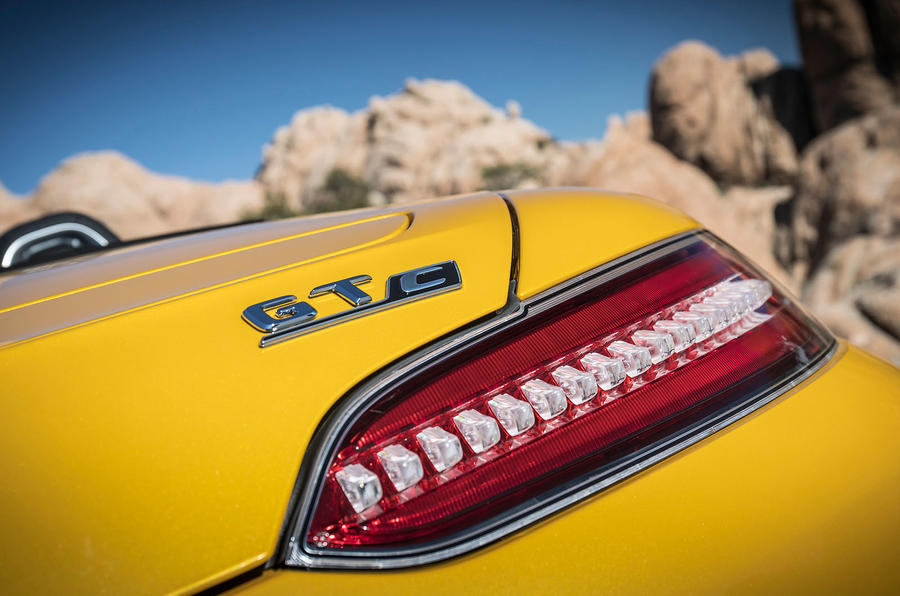 Mercedes-AMG GT C Roadster rear light