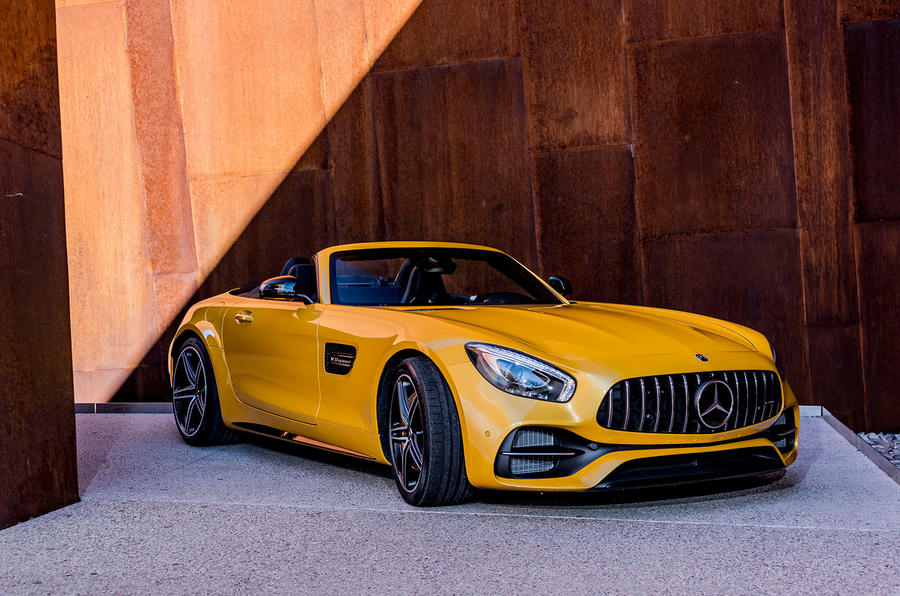 4.5 star Mercedes-AMG GT C Roadster
