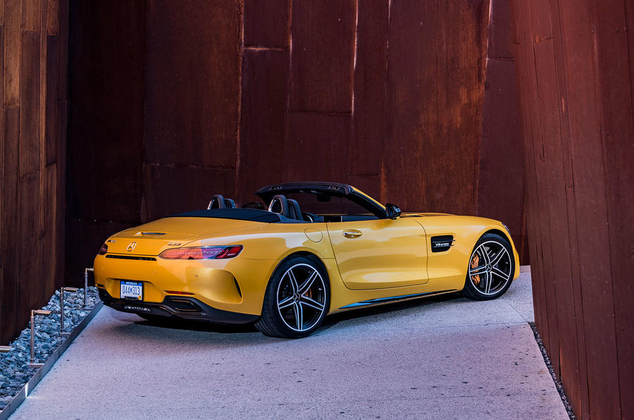 Mercedes-AMG GT C Roadster rear quarter