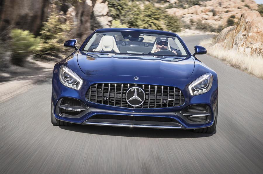 Mercedes-AMG GT Roadster front end