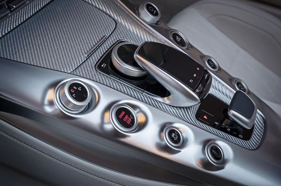 Mercedes-AMG GT Roadster automatic gearbox