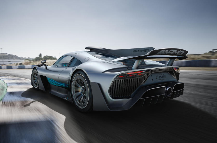 1000bhp Mercedes Amg Project One Hypercar Revealed With New Video