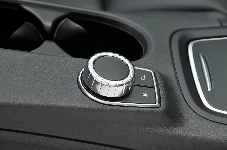 Mercedes-Benz B-Class infotainment controller