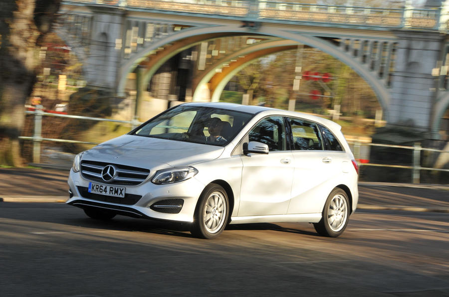 3 star Mercedes-Benz B 220 CDI Sport
