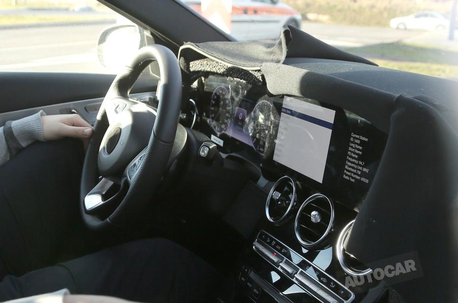 major interior makeover for new mercedes c class autocar