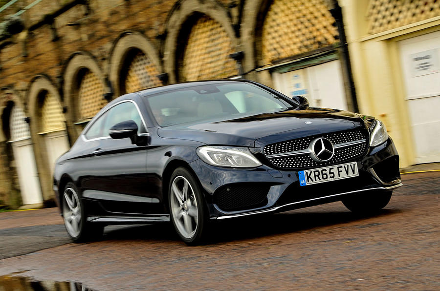 2016 mercedes c 220 d amg line coupe review review autocar. Black Bedroom Furniture Sets. Home Design Ideas