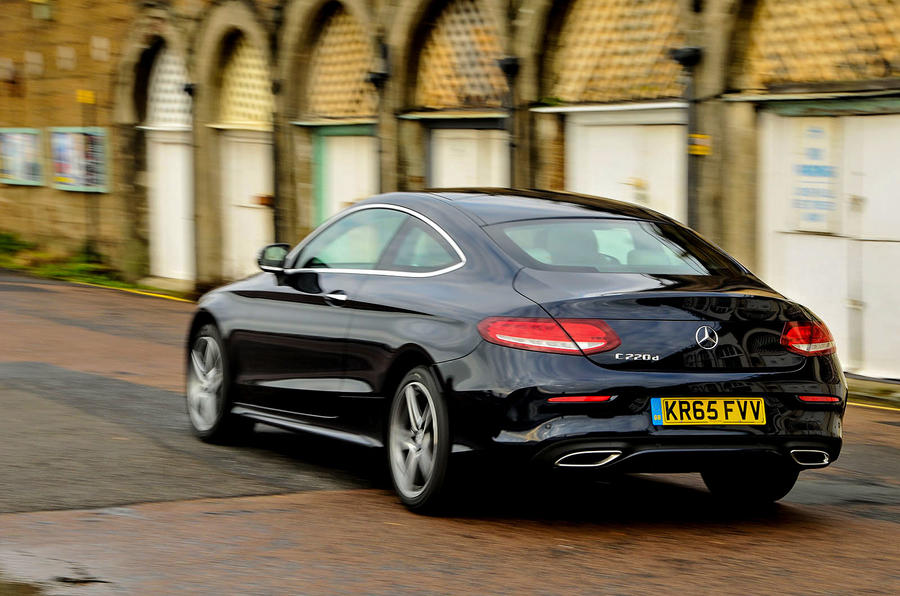 2016 Mercedes C 220 d AMG Line Coupe review review