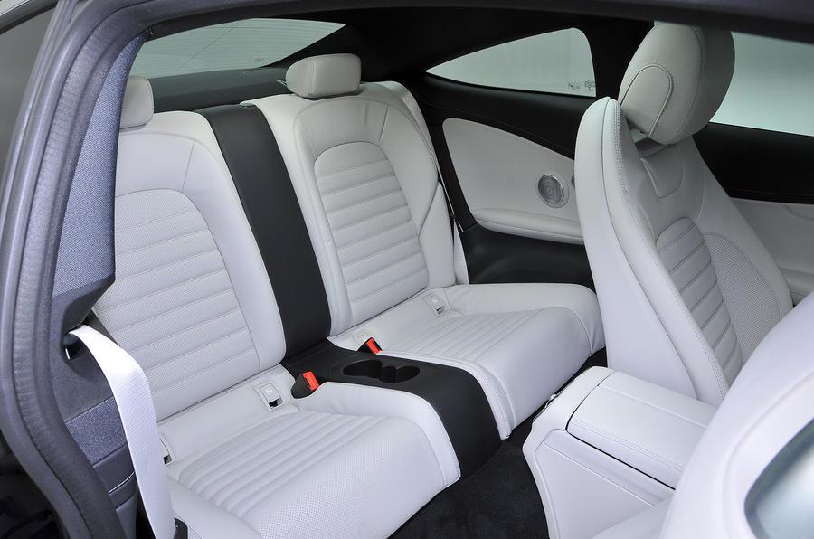 Mercedes-Benz C-Class Coupé rear seats