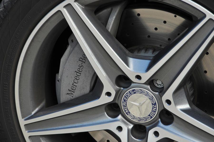 Mercedes-Benz C 250 d Coupé star alloys