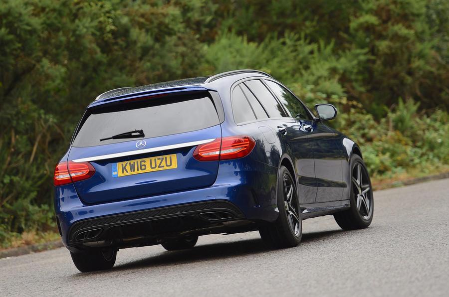 Mercedes-AMG C 43 Estate rear