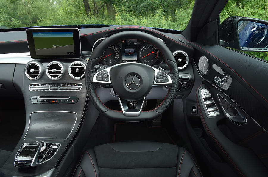 Mercedes-AMG C 43 Estate dashboard