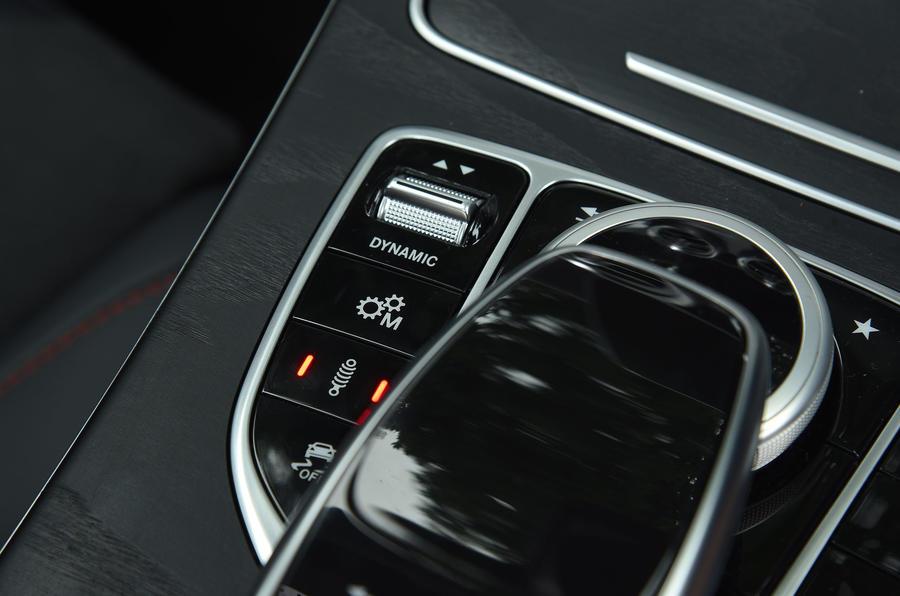 Mercedes-AMG C 43 Estate adaptive suspension