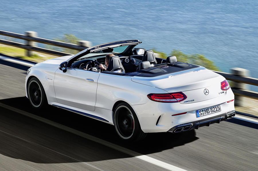 mercedes amg c 63 cabriolet unveiled autocar. Black Bedroom Furniture Sets. Home Design Ideas