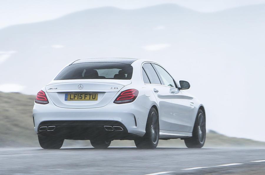 Mercedes-AMG C 63 rear