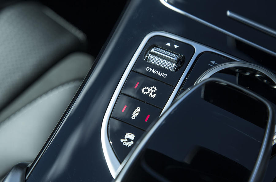 Mercedes-AMG C 63 dynamic controls