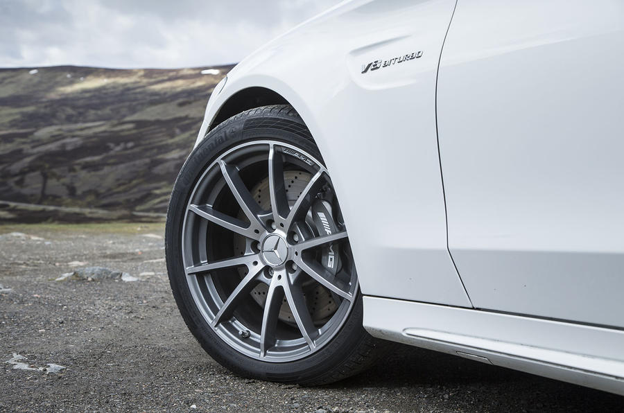19in Mercedes-AMG C 63 alloys