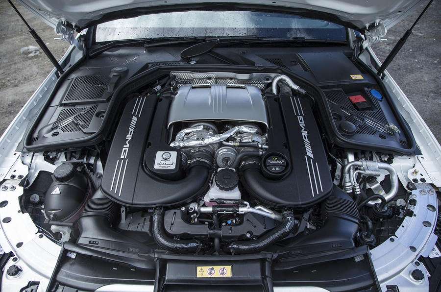 4.0-litre V8 Mercedes-AMG C 63 engine