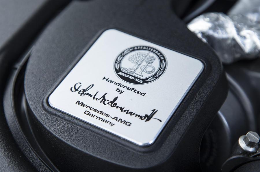Mercedes-AMG builders plaque