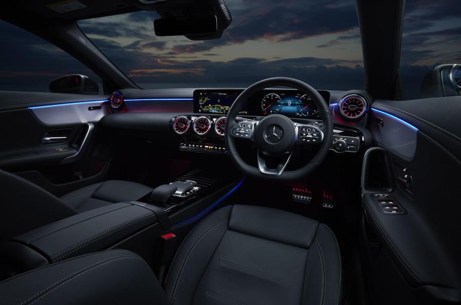 Mercedes CLA Shooting Brake cabin