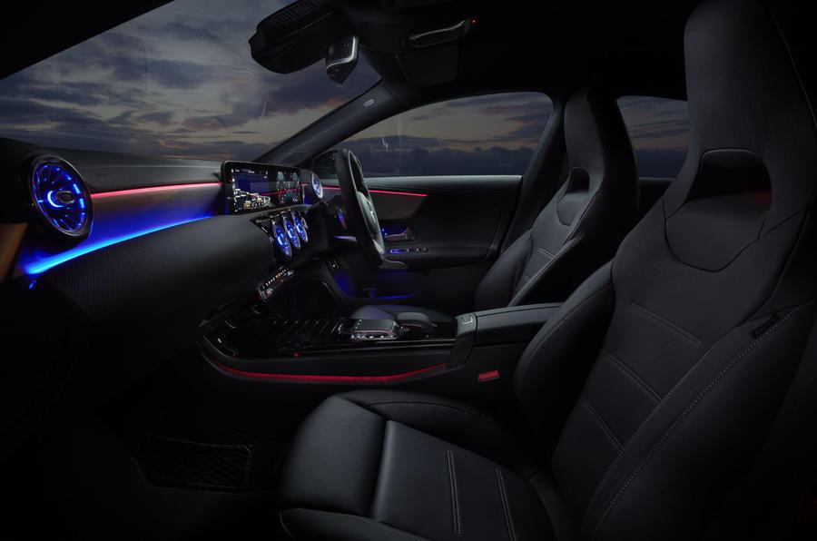 Mercedes CLA Shooting Brake interior