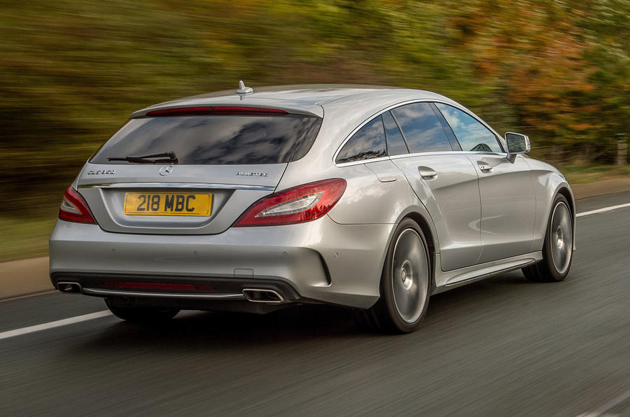 Mercedes-Benz CLS 350 d Shooting Brake rear