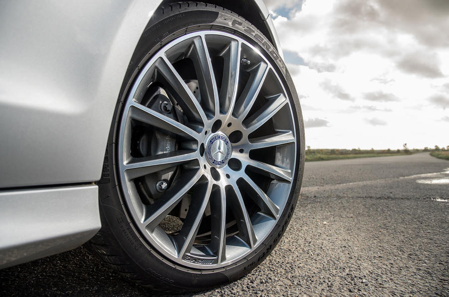 19in Mercedes-Benz CLS alloys