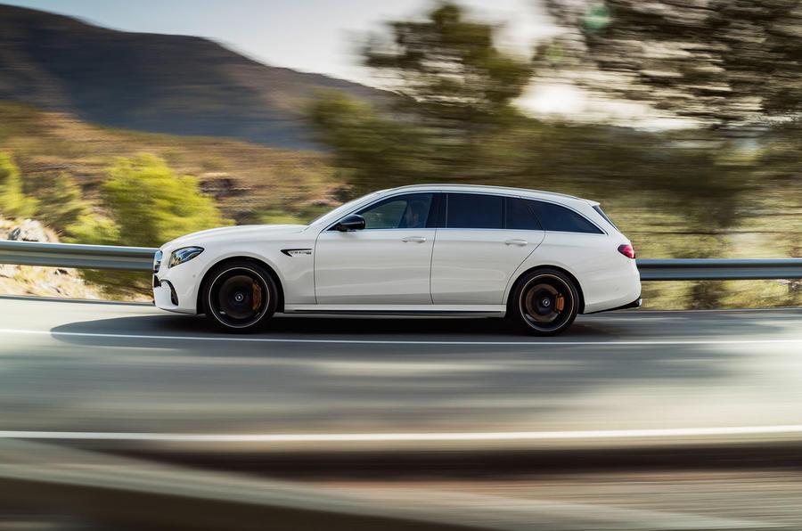 Mercedes-AMG E63 Estate side profile