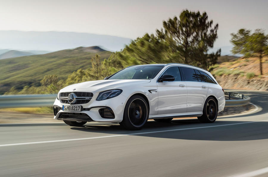 Mercedes-AMG E63 Estate right side