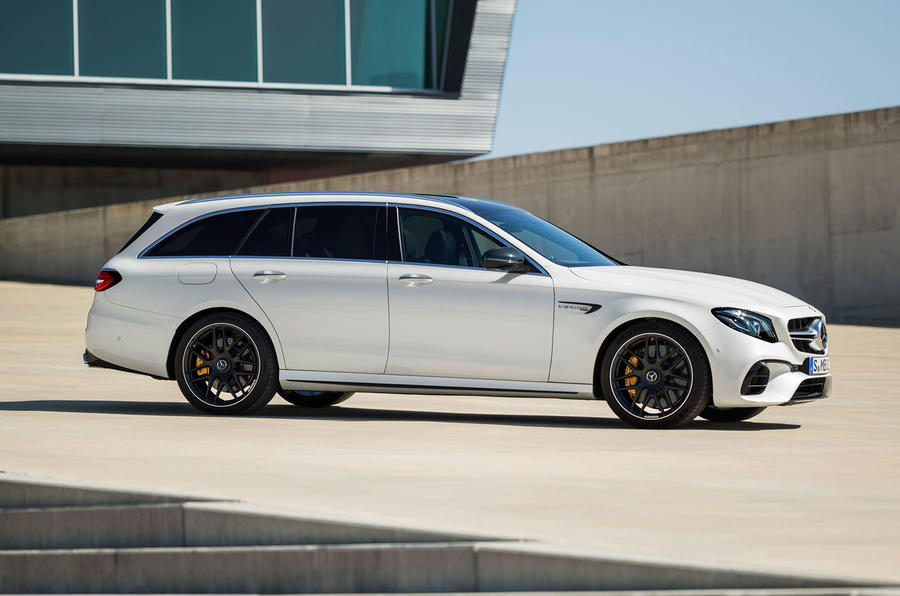 Mercedes-AMG E63 Estate side profile