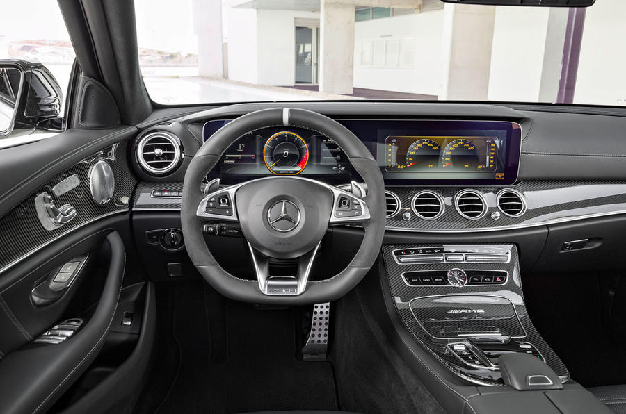 Mercedes-AMG E63 Estate interior